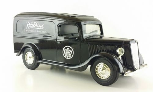 WATKINS PRODUCTS ERTL DIECAST BANK 1936 FORD PANEL VAN
