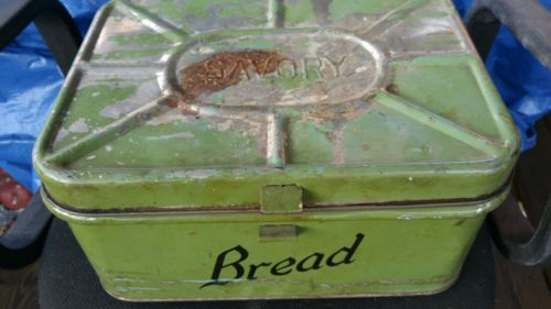 Antique Bread Box