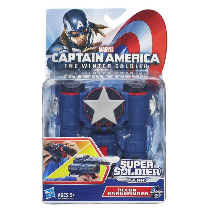 Marvel Captain America Super Soldier Recon Rangefinder Accessory **Damaged Box**
