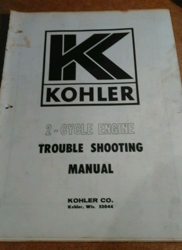 Used Kohler Engine - For Sale Classifieds