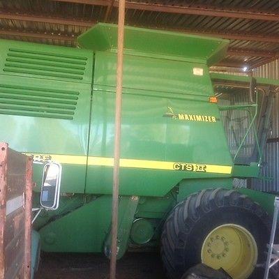 2001 John Deere CTS II Combines & Harvesters