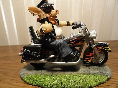 Road Hog collections HOG WILD #1166a Figurine Harley Davidson