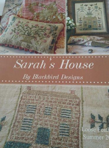 SARAH'S HOUSE CROSS STITCH BOOK BLACKBIRD DESIGNS LF SUMMER 2012