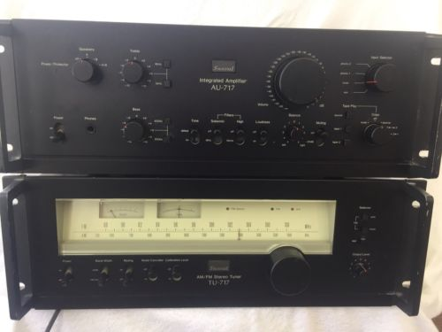 Sansui AU-717 & TU-717 Rack Mountable
