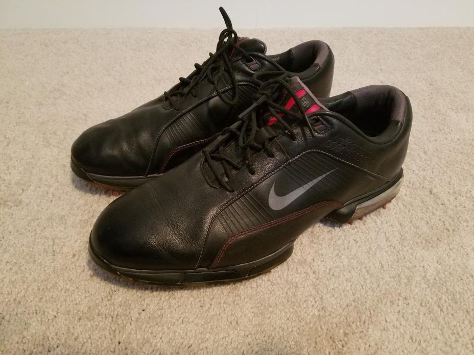 2011 Nike Zoom TW Tiger Woods Golf Shoes Black Size 10.5