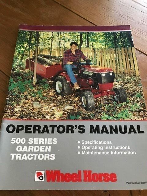 Wheel Horse Garden Tractor - For Sale Classifieds