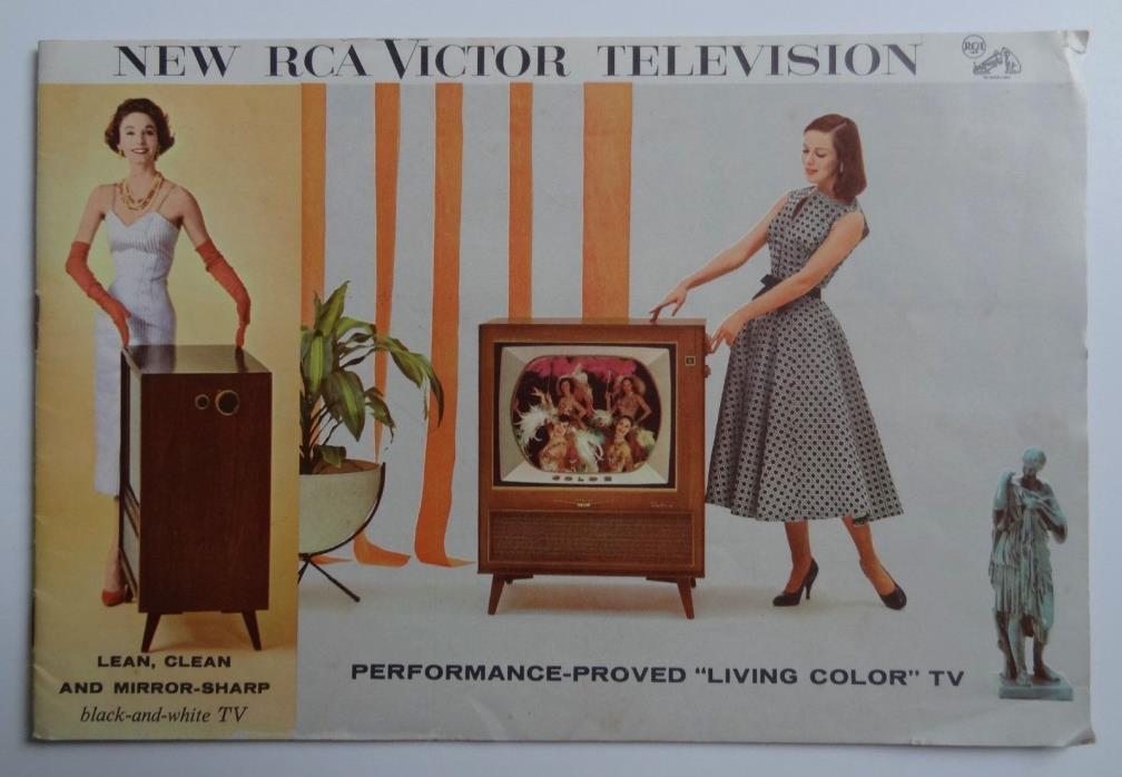 Vintage  RCA Victor Television Sales Brchure