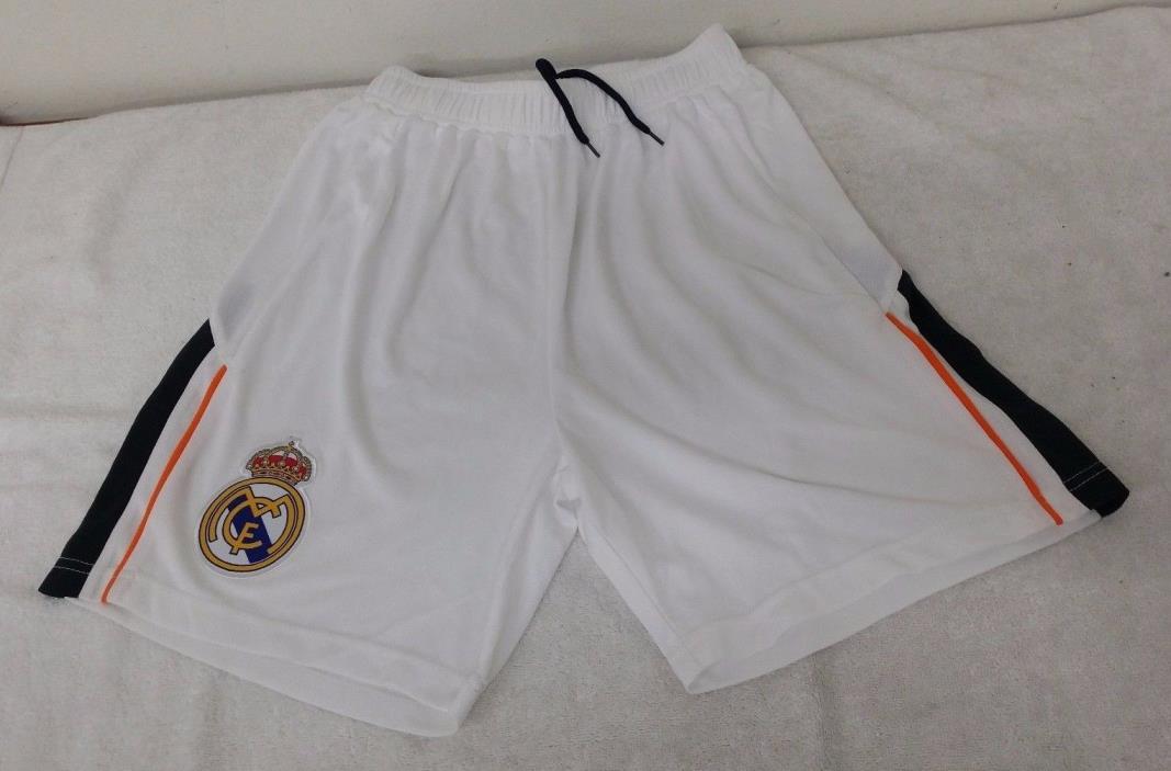 Real Madrid White Color Official Licensed Men's Shorts