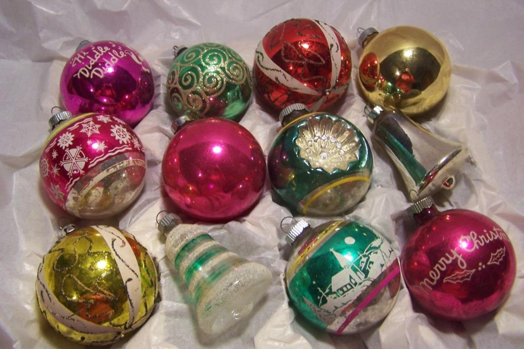 Vintage Mercury Glass Ornaments - For Sale Classifieds