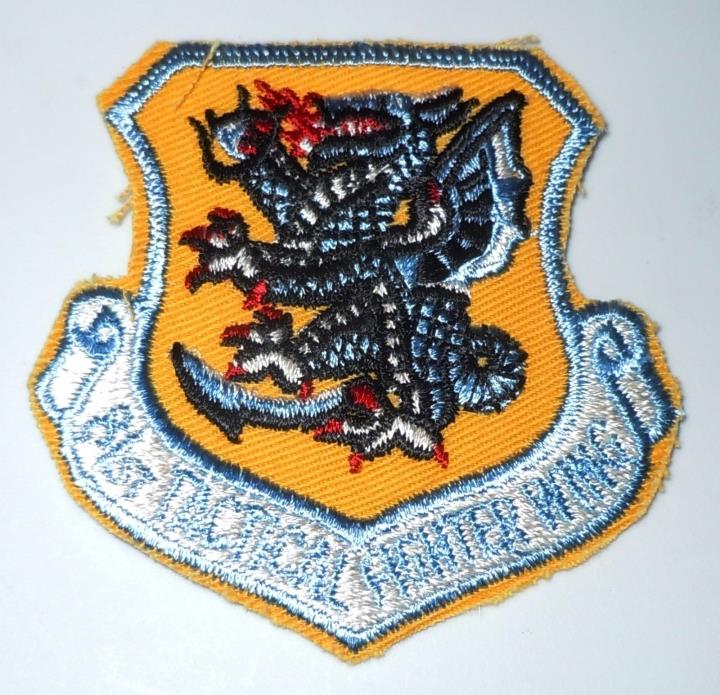 USAF MILITARY PATCH USAFE 81st TACTICAL FIGHTER WING A10 A-10 WARTHOGs