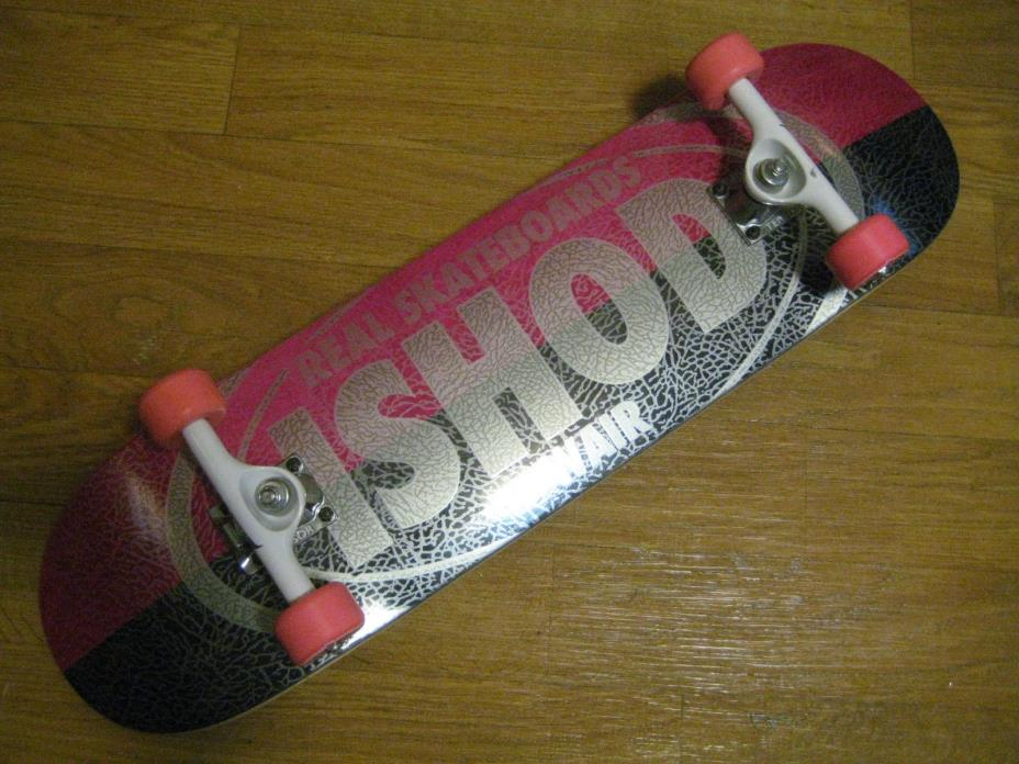 NEW REAL SKATEBOARD COMPLETE ISHOD WAIR 8.28