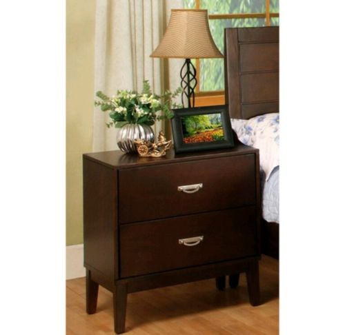 Bedroom Furniture 2-Drawer Nightstand, Home Decor and Storage Cabinets