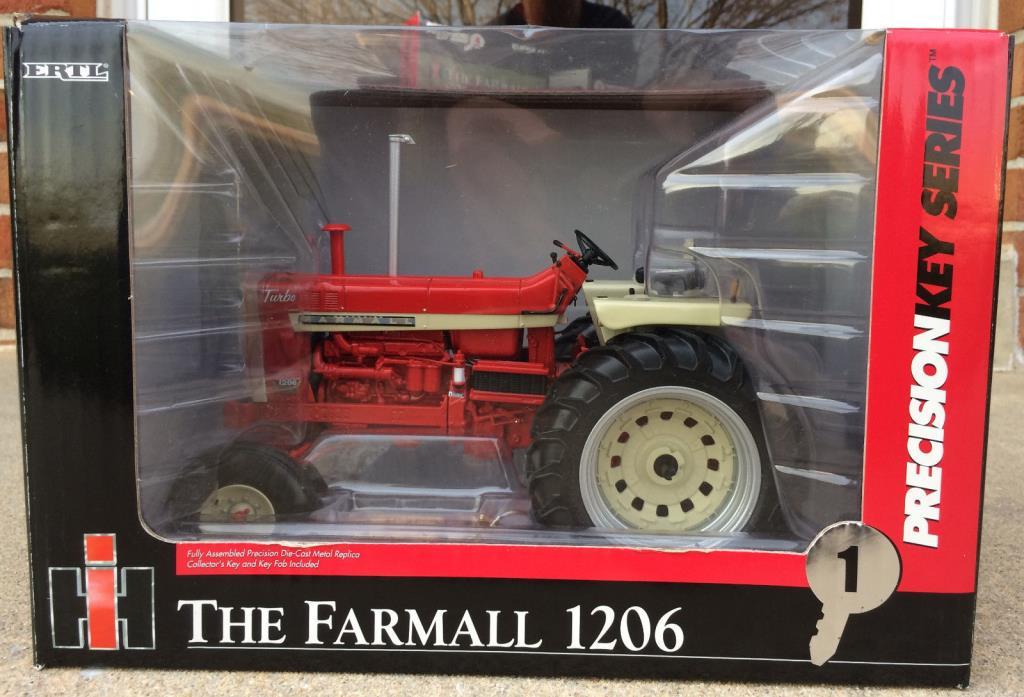 1/16 Ertl Precision Key Series #1 Farmall 1206 NIB #14408