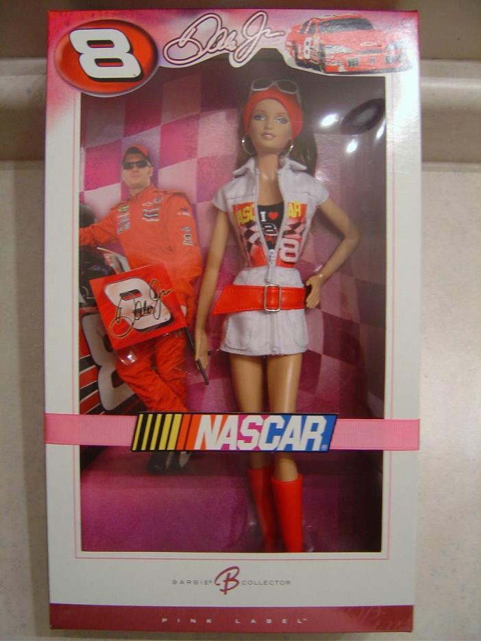 BARBIE DALE EARNHARDT JR NASCAR DOLL
