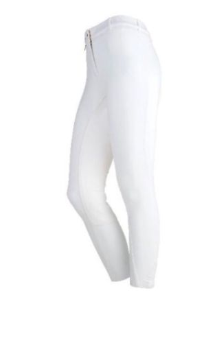On Course Full Seat White Breeches 26