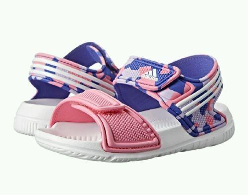 New Adidas Performance Akwah 9 I Girls Sandals size 6 k (Toddler) NWT