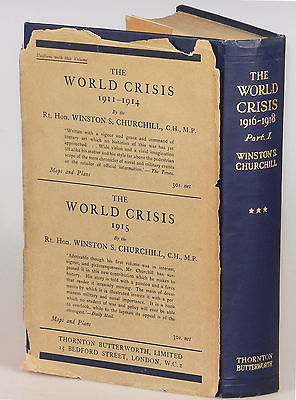 Winston S. Churchill - The World Crisis: 1916-1918, Part I, fourth printing