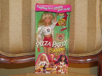 1994 Mattel Pizza Party Skipper Pizza Hut & Pepsi Barbie #12920 NRFB