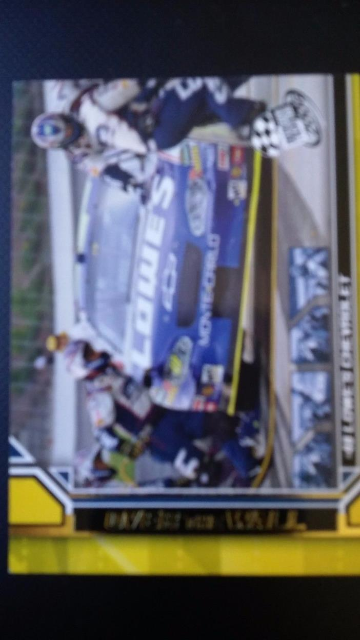jimmie johnson 2006 Press Pass #G73 Gold racing card
