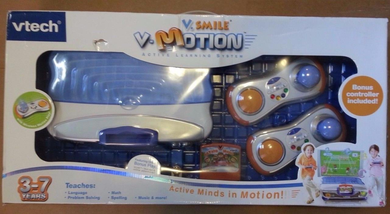 VTech V.Smile V-Motion Active Learning game System 2 Wireless Controls