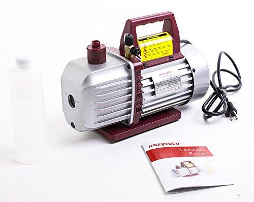 Kozyvacu, Two-Stage Rotary Vane Economy Vacuum Pump (5.0CFM, 0.3Pa