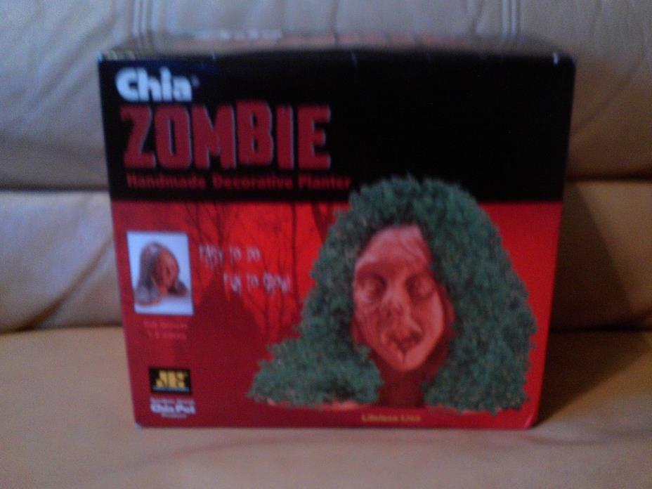 Chia Zombie Lifeless Lisa Decorative Planter Set