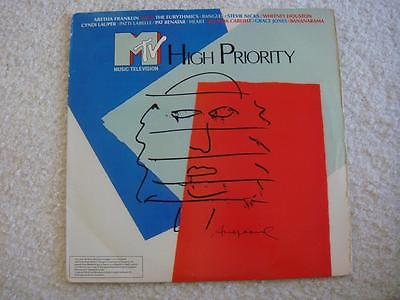 ANDY WARHOL ART COVER / M TV  HIGH PRIORITY  ( NM )
