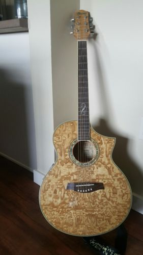Beautiful Ibanez Exotic Woods EW20ASE-NT  Natural Acoustic Electric Guitar