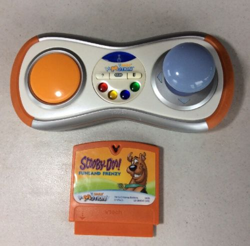 Vtech Vsmile Vmotion Wireless Controller 9148 w/ Scooby Doo Cartridge Game