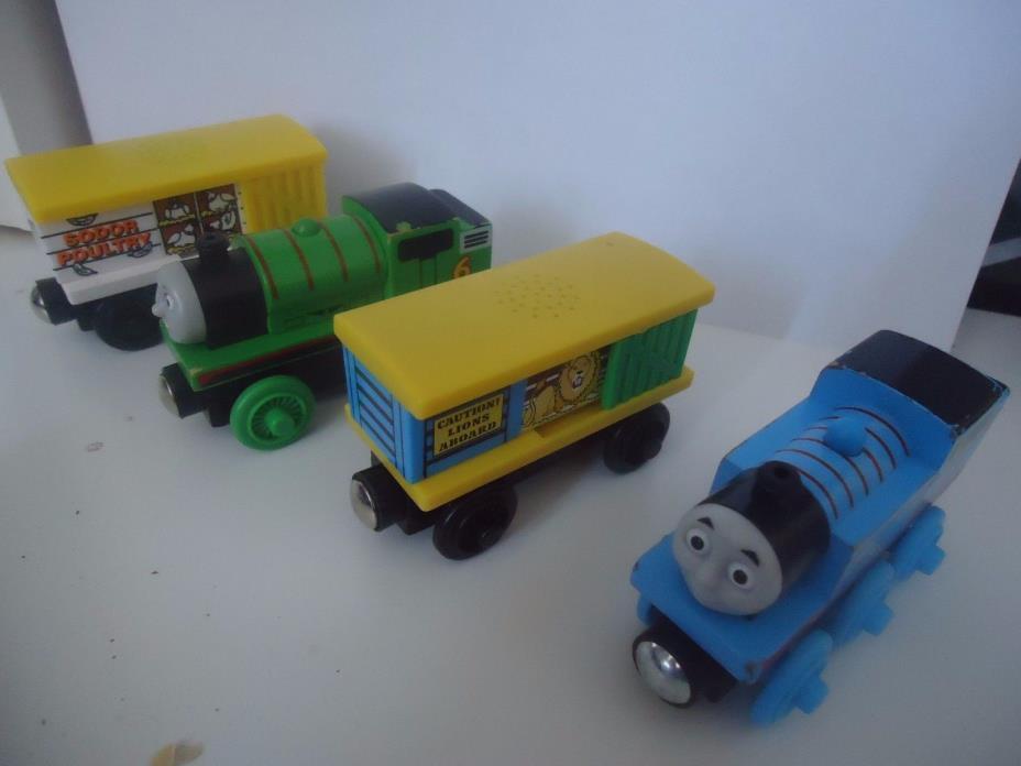 Thomas the Train Wooden Train Lot