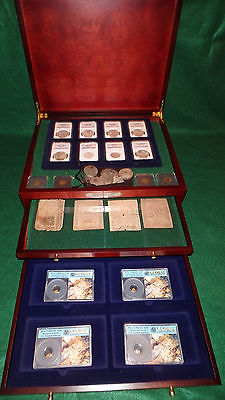 GOLD / SILVER COINS W/SHIPWRECK SS NEW YORK & SS CENTRAL AMERICA/ COLONIAL NOTES