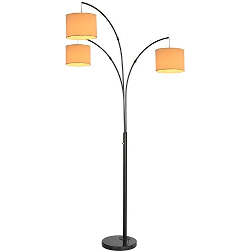 Brightech - Trilage Floor Lamp - Contemporary Stylish Elegance in an Antique
