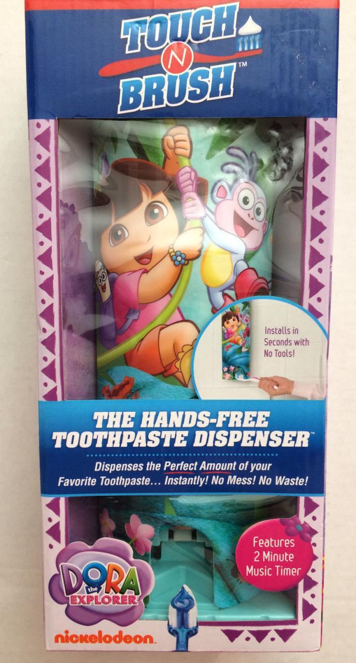 Touch n Brush Hands Free Toothpaste Dispenser- Dora the Explorer
