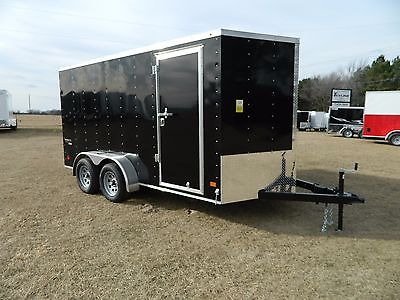 14' 14 Ft Cargo Utility Enclosed Trailer Trike ATV Bike OK Oklahoma TX ARK Texas