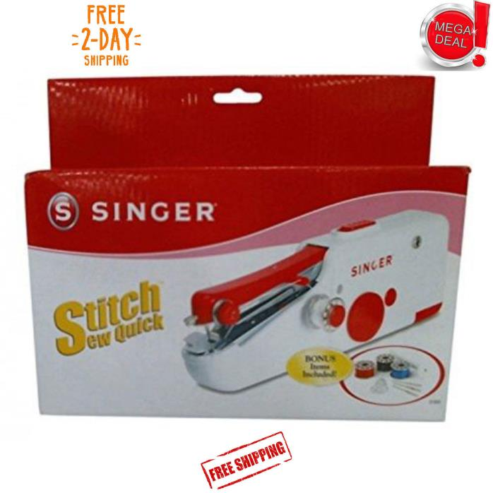 Singer Stitch Sew Quick Hand Held Sewing Machine