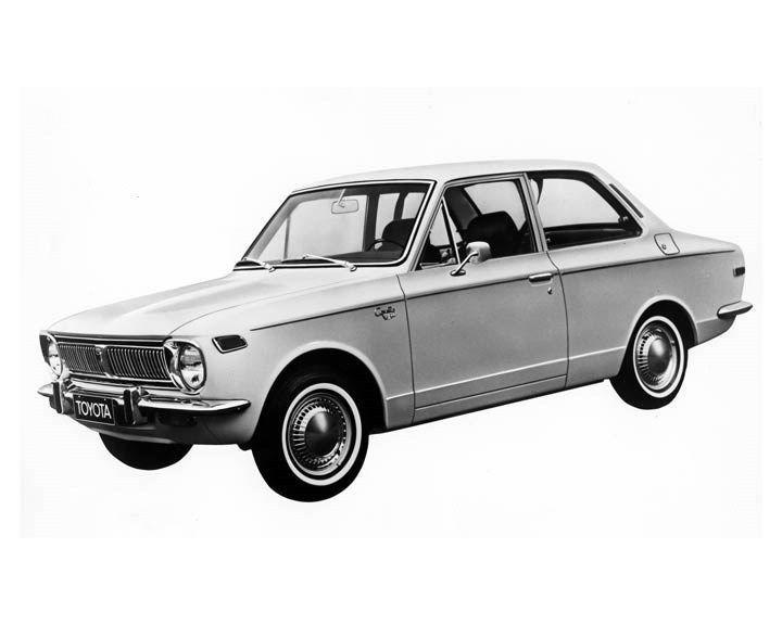 1970 Toyota Corolla 2 Door Sedan ORIGINAL Factory Photo oub2255