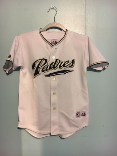 Majestic San Diego Padres MLB Baseball Jerseys Youth Medium
