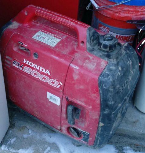 used honda generator 2000