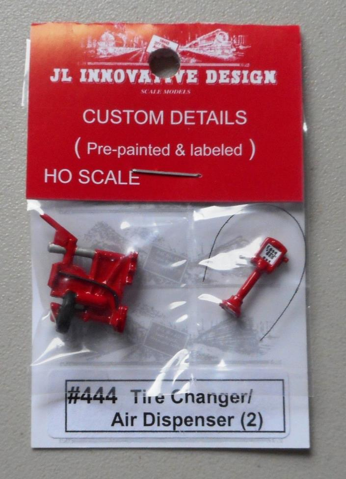 TIRE CHANGER & AIR DISPENSER HO 1:87 SCALE LAYOUT DIORAMA JL INNOVATIVE 444