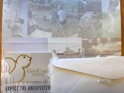 Nemacolin Woodlands Resort Gift Card, $1,000
