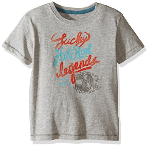Lucky Brand Boys' Hot Rod Tire T-Shirt