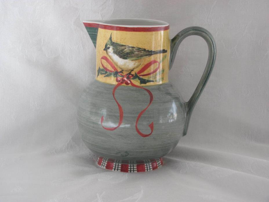 LENOX WINTER GREETINGS EVERYDAY 64 OZ PITCHER