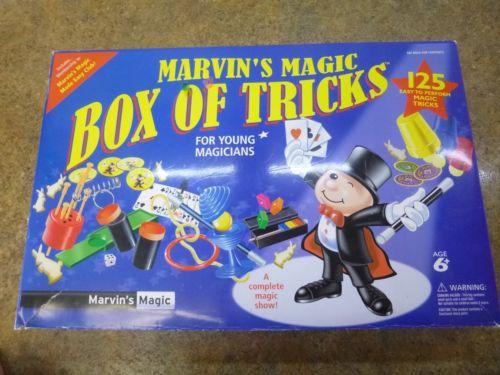 Marvin's Magic Box of Tricks (125 tricks), + bonus trick and magician's manual