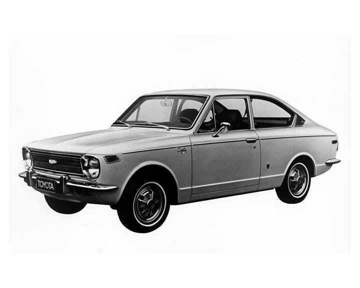 1970 Toyota Corolla Sprinter ORIGINAL Factory Photo oub2254