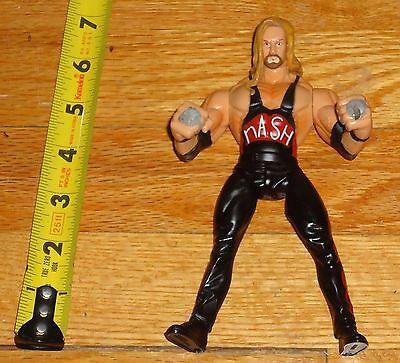 1999 WCW NWO Toy Biz Kevin Nash Grip Flip Wrestling Figure WWF WWE TNA Impact