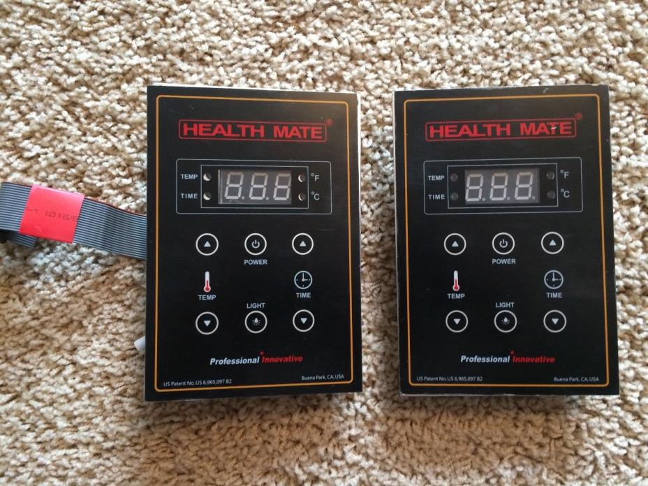 Replacement Dual-Side Control Panel for Health Mate Brand Sauna
