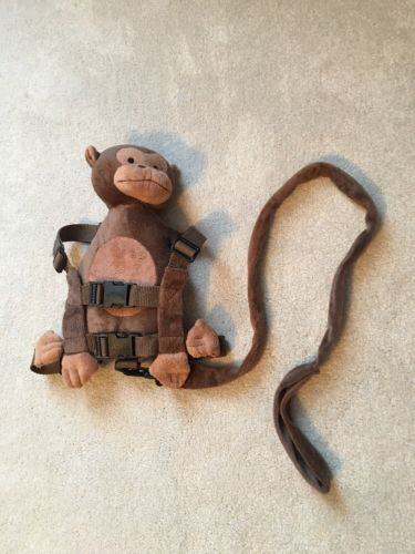 Harness Leash Backpack Gold Bug Monkey 2 in 1 Safety Plush BABY SAFETY