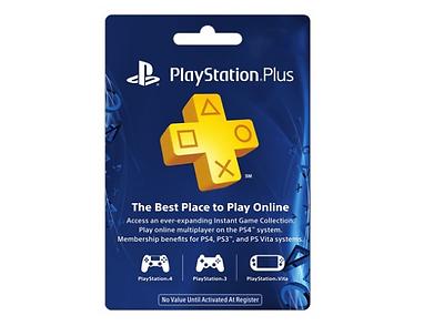 1-Year PlayStation Plus Membership PS4 PS3 or Vita