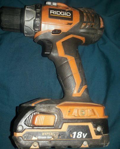 Rigid 18v R86014 Drill W/auto Shift