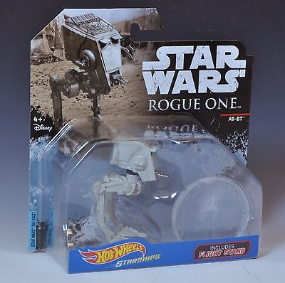 Star Wars Rogue One Hot Wheels Empire Imperial AT-ST Chicken Walker HTF MOC